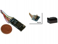 zvukový dekodér LokSound 5 micro DCC/MM/SX/M4 prázdný PluX16