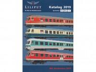Liliput L020190 katalog Liliput 2019 (H0 H0e N G) německy