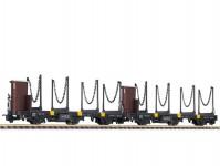 Liliput L240128 set oplenových vozů Jblm/s s ocelovými opleny ÖBB III.epocha