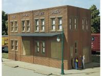 Woodland Scenics DPM10600 tovární budova Laube Linen Mill