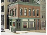 Woodland Scenics DPM11300 městský dům s kavárnou
