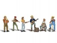 pouliční muzikanti