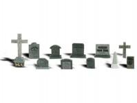 Woodland Scenics A2164 náhrobní kameny