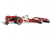 Woodland Scenics AS5564 traktor s vlečkou