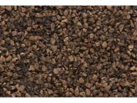 Woodland Scenics B78 štěrk tmavě hnědý střední