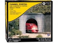 Woodland Scenics C1266 tunelový portál betonový jednokolejný