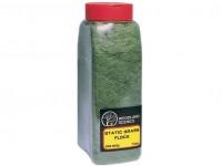 Woodland Scenics FL636 statická tráva tmavě zelená