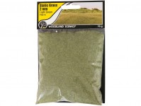 statická tráva světle zelená 2mm