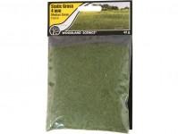 statická tráva středně zelená 4mm