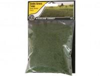 statická tráva tmavě zelená 7mm