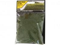 statická tráva tmavě zelená 12mm