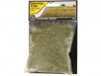 statická tráva světle zelená 12mm