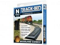 Woodland Scenics ST1475 kolejové podloží v roli 3 mm