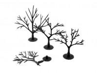 Woodland Scenics TR1121 kostry listnatých stromů 57 ks