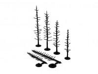 Woodland Scenics TR1124 kostry jehličnatých stromů 70 ks
