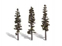 Woodland Scenics TR3563 jehličnaté stromy velké 3 ks
