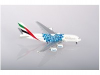 Herpa 533713 A380 Emirates Expo 2020 blue