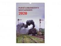 Literatura 69075 kalendář nástěnný 2020 - Parní lokomotivy součastnosti