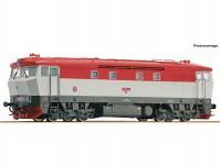dieselová lokomotiva T478.2 Bardotka ČSD DCC se zvukem