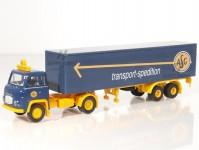 """Brekina 85151 Scania LB 76 skříň """"ASG"""" - doprodej"""