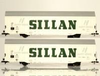 set zavřených velkoprostorových vozů Hbbks DB SILLAN III.epocha (dlouhý)
