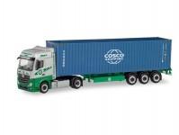 MB A 2011 BigSpace kontejnerový návěs EKB/Cosco