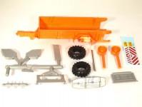 Modelauto 43016 rozmetadlo RUR-5 oranžové stavebnice
