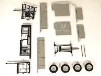 Modelauto 43017 valník zemědělský šedý stavebnice