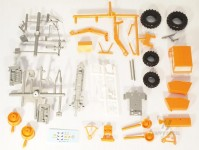 Modelauto 43019 Zetor Crystal 12045 oranžový s nakladačem stavebnice