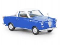 Brekina 27858 Goggomobil Coupé modrý / bílý