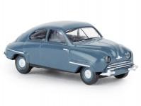 Brekina 28601 Saab 92 modrý