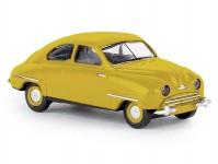 Saab 92 tmavě žlutý
