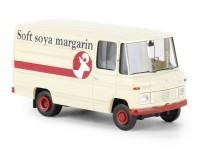 Brekina 36845 Mercedes L 406 D skříň Soya Margarin