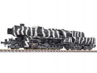 Liliput L131524 parní lokomotiva 52 3109 DRB II.epocha v zimním nátěru