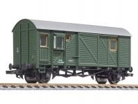 Liliput L334611 služební vůz k nákladnímu vlaku zelený  ÖBB III-IV.epocha