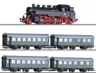 set osobního vlaku s lokomotivou řady 86 DB III.epocha