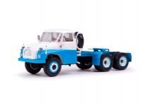 Herpa 83SSM1372 Tatra-138NT tahač 6x6 modrý / bílý