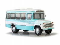 Herpa 83SSML023 KAVZ-658V autobus modrý/bíly