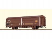 Brawa 48978 vůz s pohyblivými stěnami Hbis DSB Post