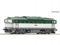 Roco 72051 dieselová lokomotiva Brejlovec T478.3 ČSD IV.epocha DCC se zvukem