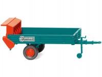 Wiking 88703 rozmetač hnoje Blumhardt modrý / červený