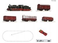 Roco 51318 digitální set s parní lokomotivou řady 57 a nákladním vlakem DB IV.epocha