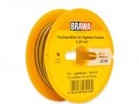 kabel dvouvodičový žlutý/hnědý 5 m