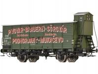 Brawa 49778 pivní vůz Lp ČSD II.epocha