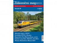 Literatura zm1911 Železniční magazín 11/2019