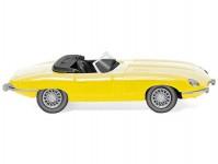 Wiking 81706 Jaguar E-Type roadster žlutý