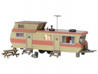 Woodland Scenics BR5061 mobilheim červený