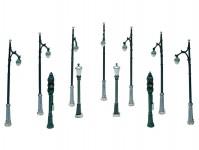 Woodland Scenics D248 pouliční lampy 11 ks