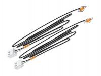 Woodland Scenics JP5736 nalepovací LED dioda oranžová 2 ks