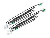 Woodland Scenics JP5737 nalepovací LED dioda zelená 2 ks